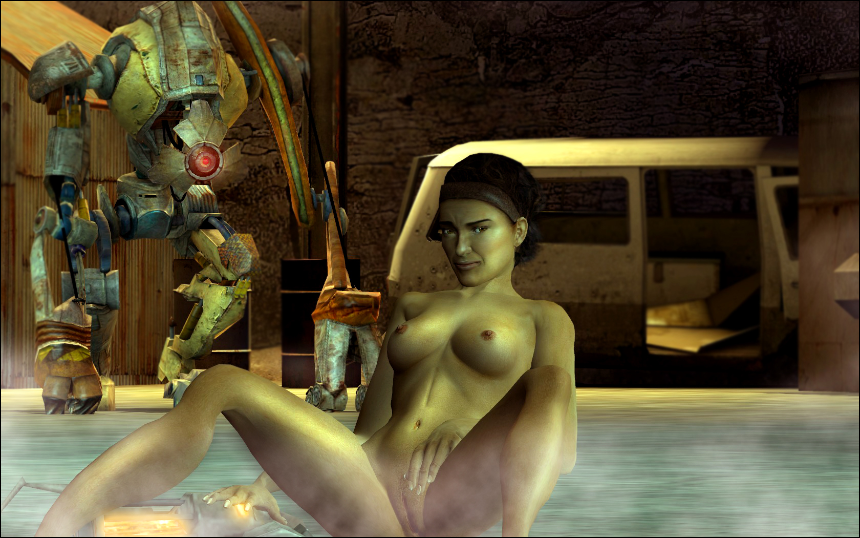 mod fallout 4 nude female One piece bunny girl transformation
