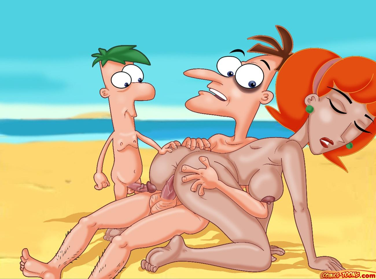 phineas ferb porn comic and Trials in tainted space akane