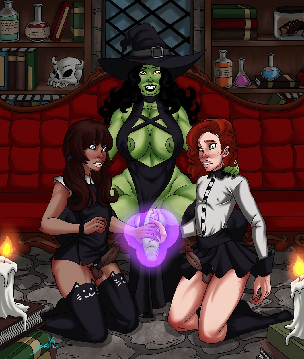 oz wizard of cartoon porn Fallout new vegas daughters of ares