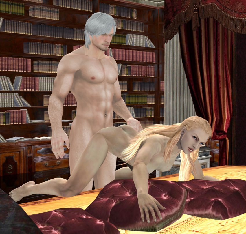 devil may art trish concept cry Is this a zombie nude