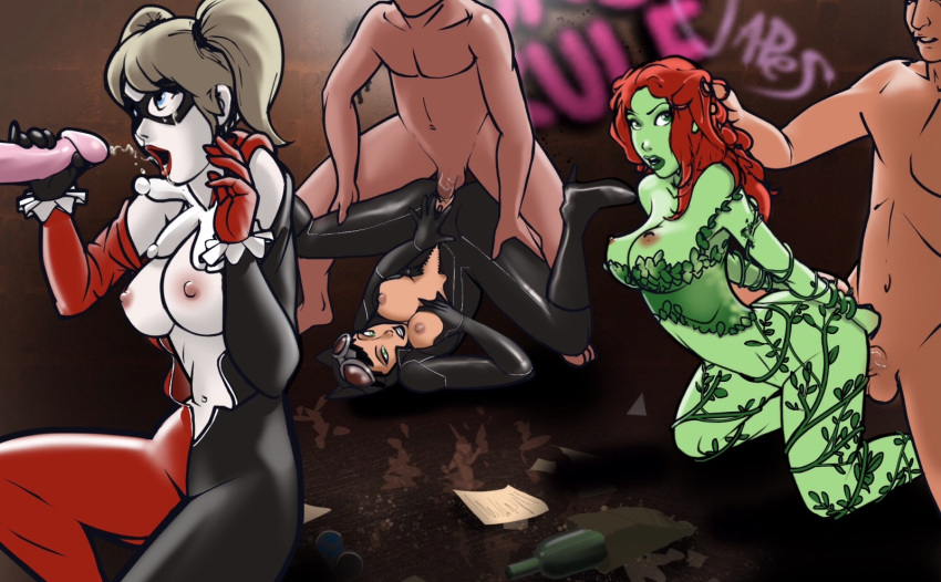 and catwoman harley nude quinn My pet succubus