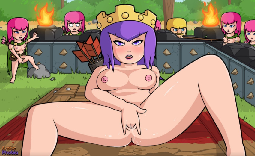 witch clash of clans porn The walking dead rosita nude